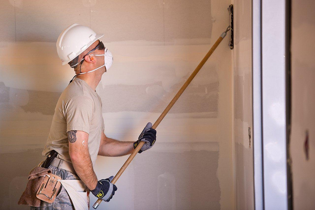 A handyman is the person you need to fill in any drywall holes