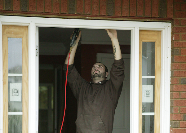 Getting ready for winter? Get your windows and doors caulked or install weatherstripping