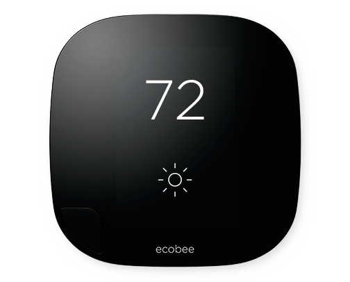 An ecobee or other app controlled thermostat will help you control the temperature of your home while you're away!