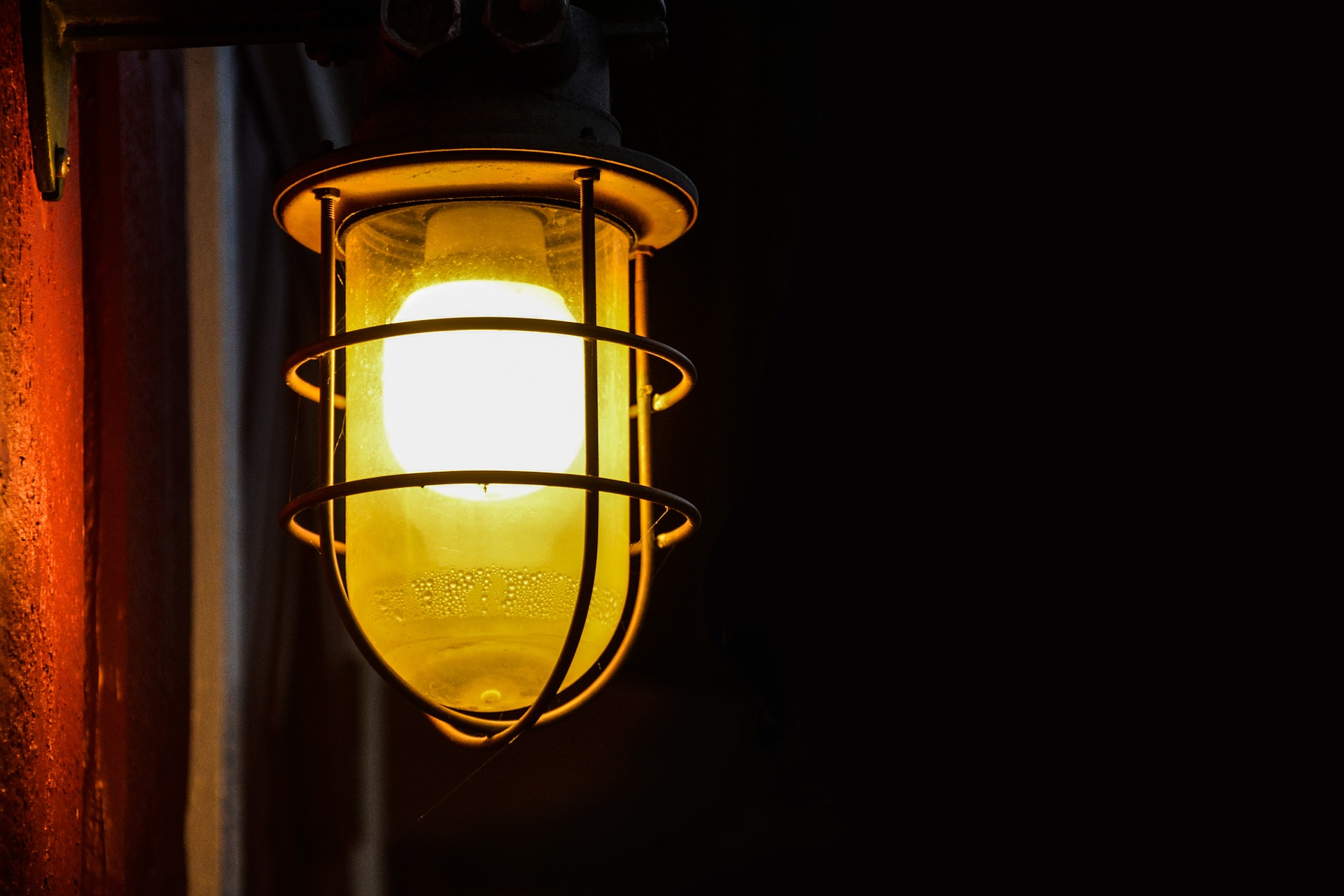 Now is the time to install outdoor lighting on your house.
