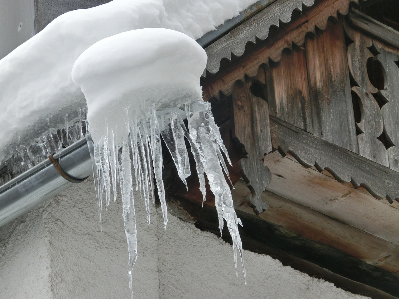 Ice dams are dangerous and result in expensive home fixes after they melt.