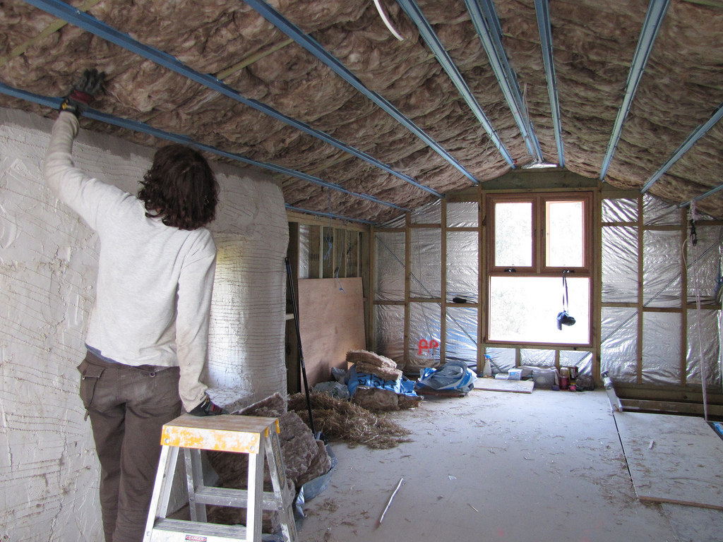 Replace or add to the insulation in your attic to prevent heat loss