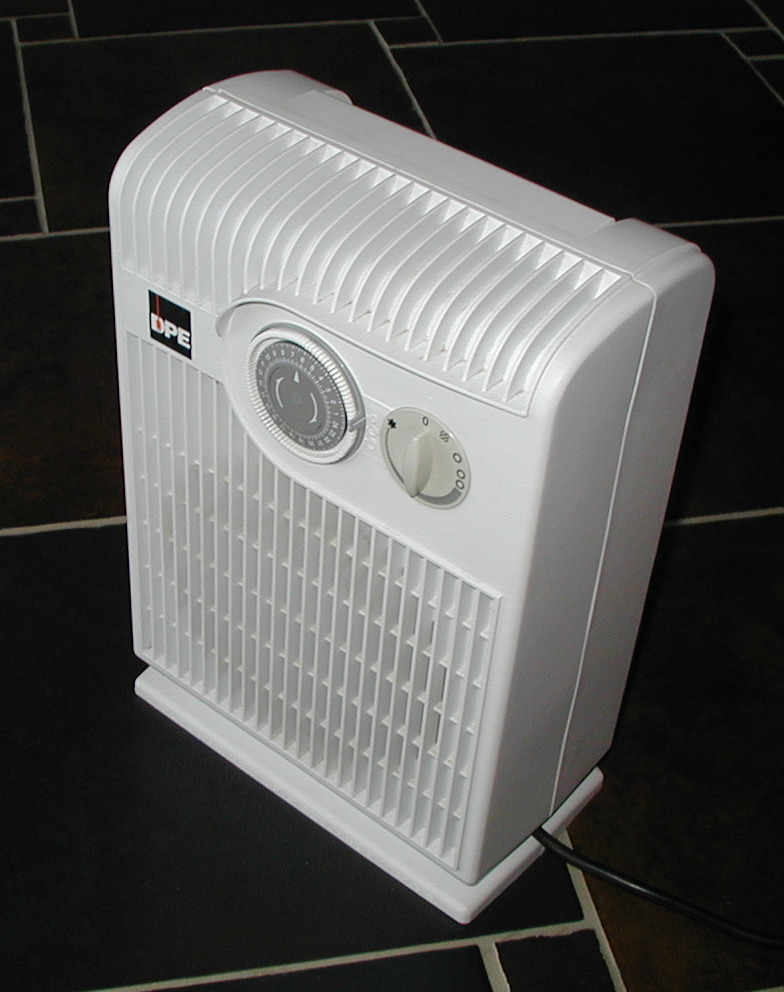 Using a space heater to heat a specific room can help you save energy and money this winter
