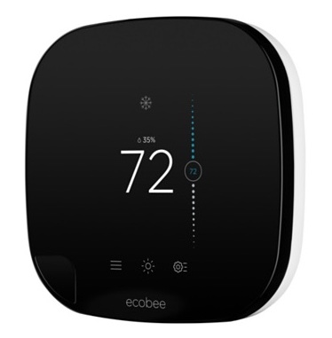 An ecobee thermostat can help to save you a ton of money in the winter