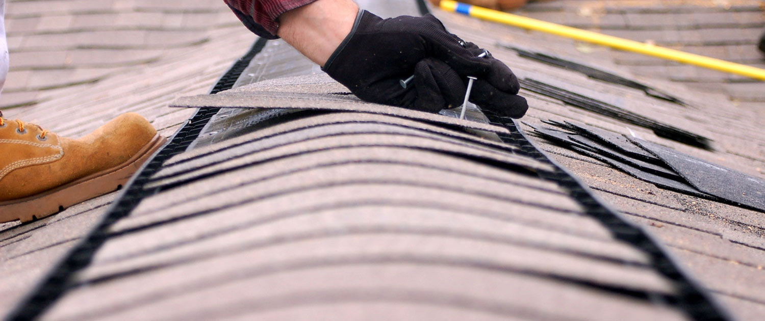 Keep an eye on your roof regularly and look for sagging, drooping, moss