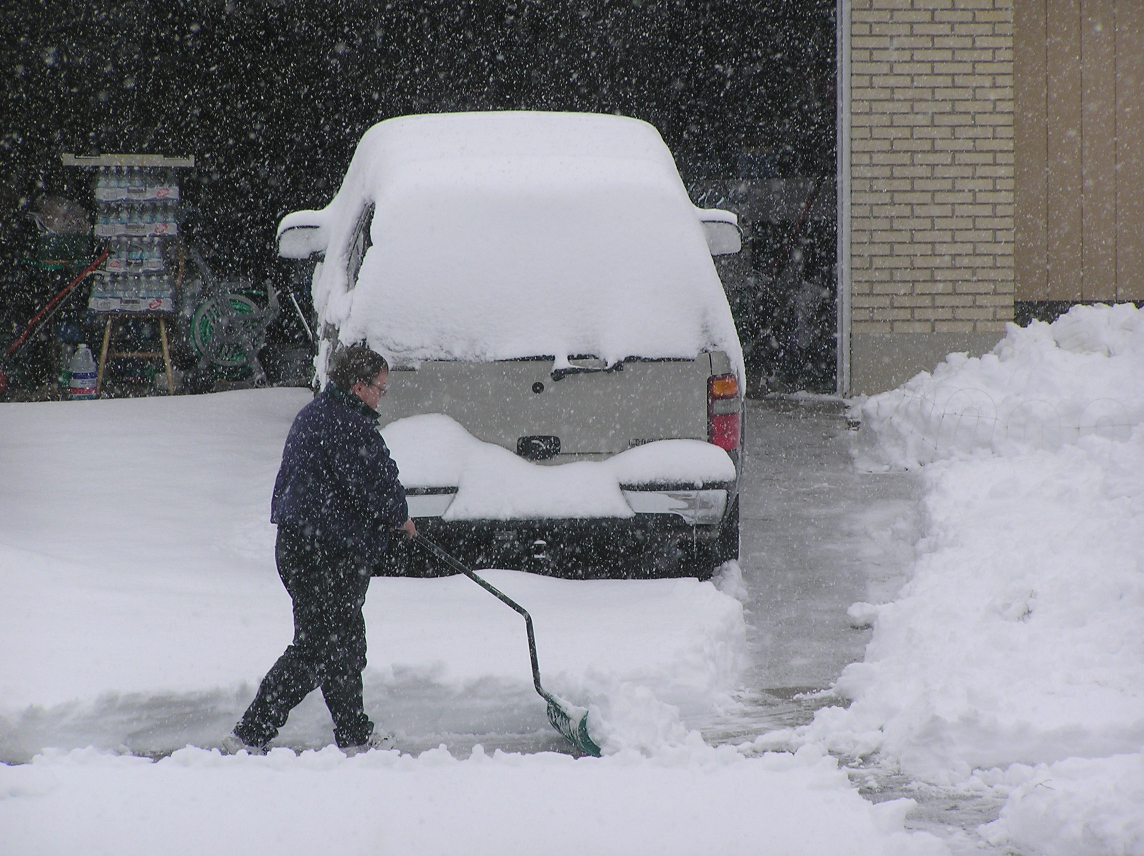 Don't hurt yourself shovelling the snow  this winter!