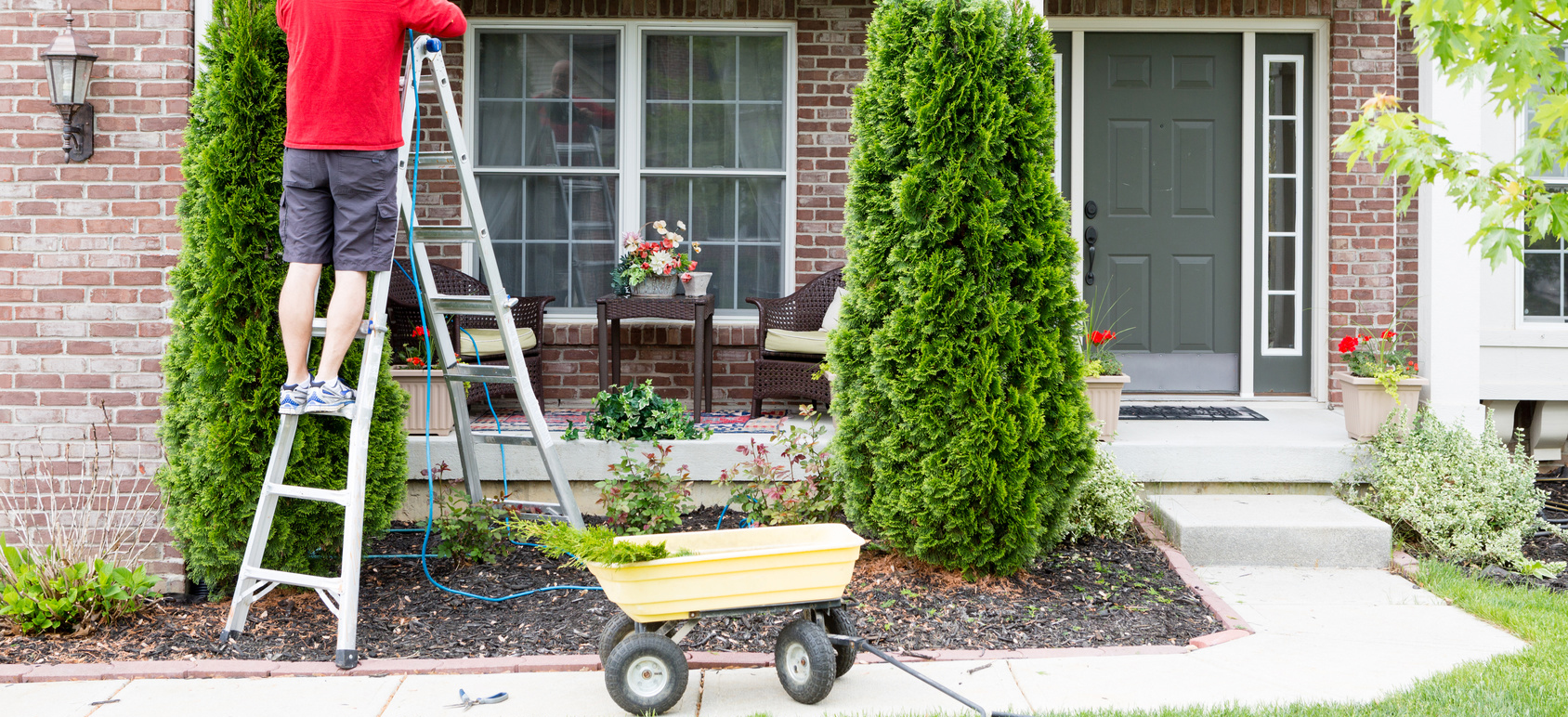 There's lots to do both inside and outside your home as we move into spring