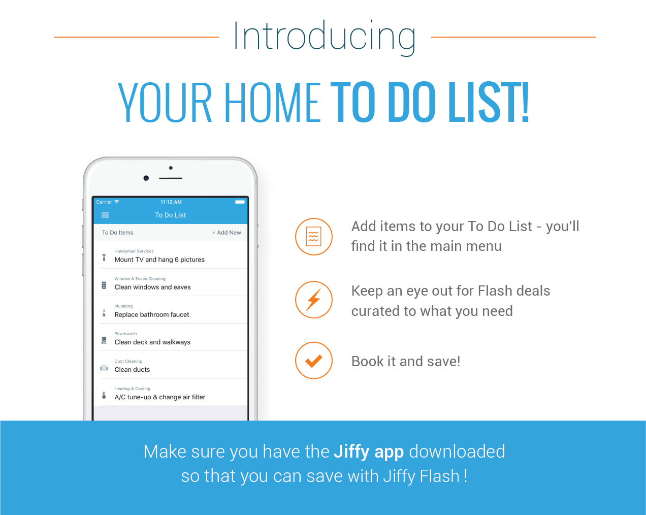 Keep track of your home maintenance to do list easily!