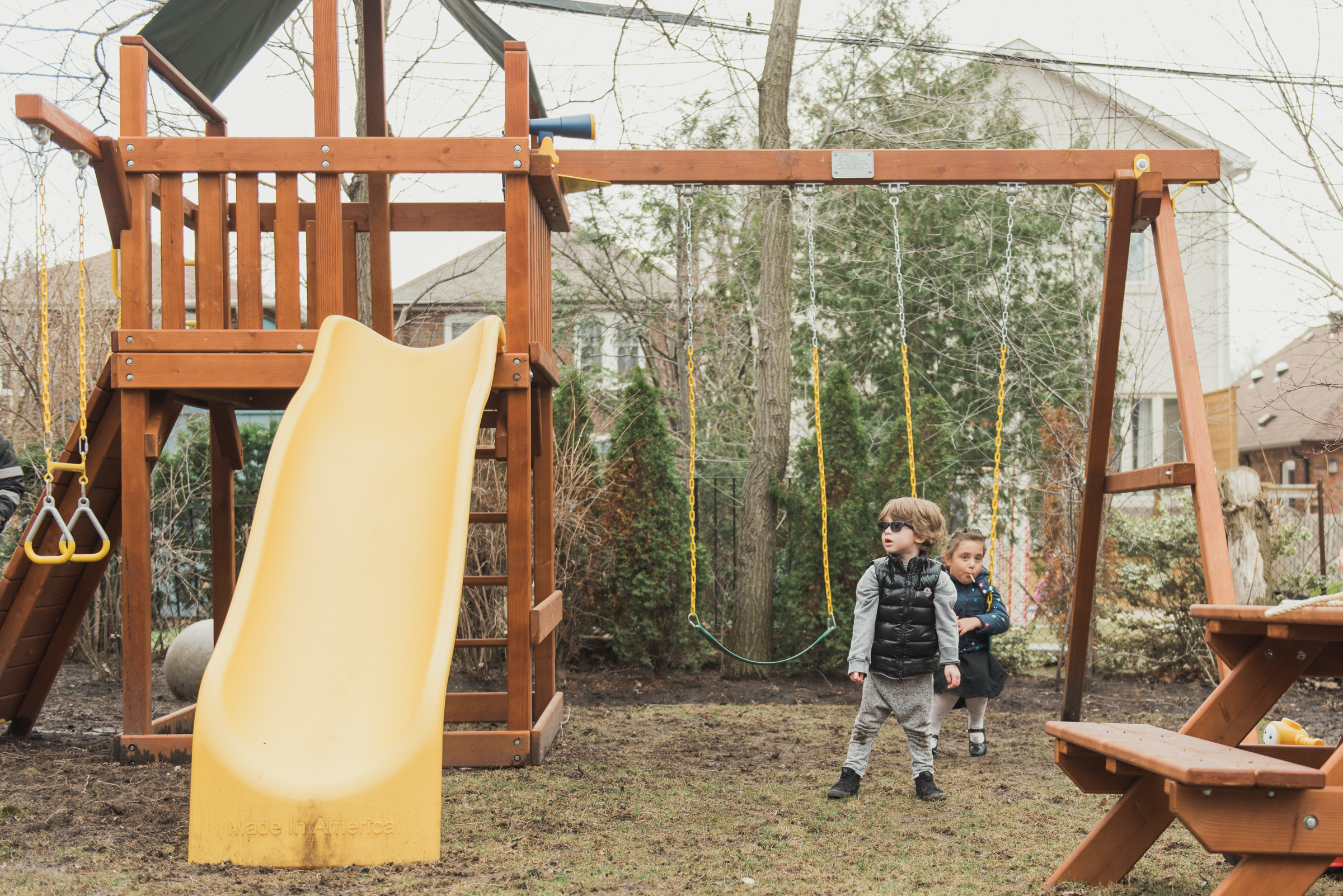 Does your swing set need a tune up?